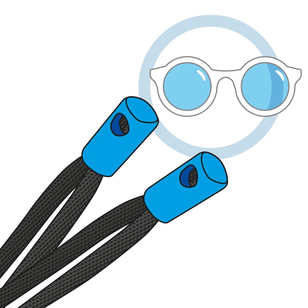 Embout de cordon à lunettes
